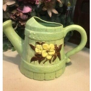 Other - Hand Made Ceramic Watering Can Planter